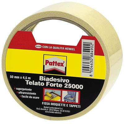 BIADESIVO UNIVERSALE PATTEX 22500 MT.25 H.MM.25